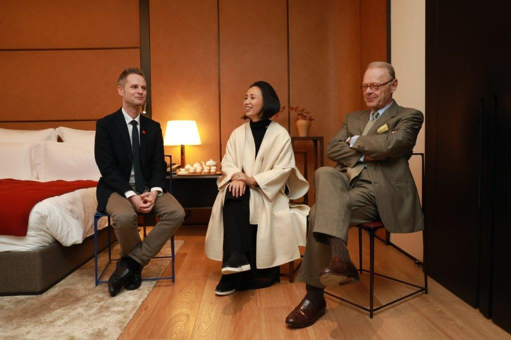 Interview of Klaus Heine with Mrs. Qiong Er Jiang, the CEO & Artistic Director of Shang Xia and Patrick Thomas, the former president of Hermès